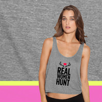 Real WOmen Hunt ladies' flowy tanktop