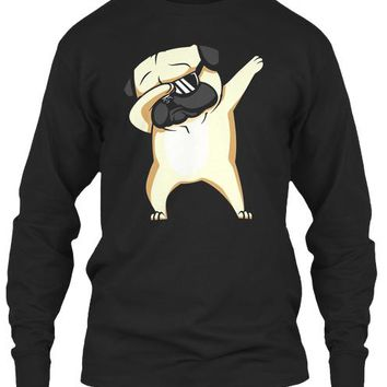 Dabbing Pug Shirt   Cute Funny Dog Dab T Shirt