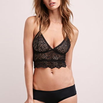 Else Sheer Scalloped Bralette