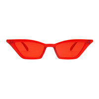 The Paper Airplane Sunglasses Red