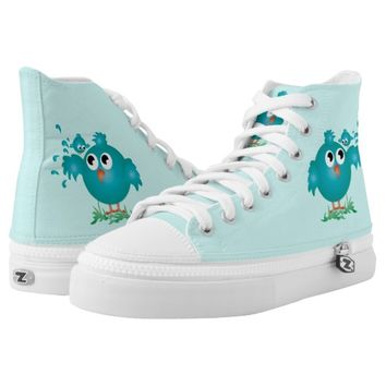 Birds Printed Shoes