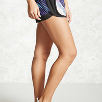 Active Abstract Dolphin Shorts