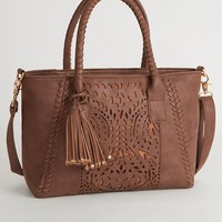 UNDER ONE SKY PERFORATED PURSE