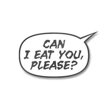 2000AD Can I Eat You, Please? Pin