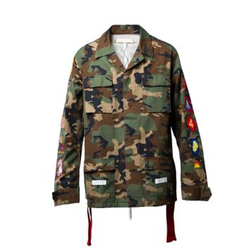 OFF-WHITE c/o Virgil Abloh Field Jacket (Camouflage)