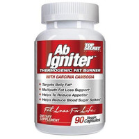 Top Secret Nutrition Ab Igniter Thermogenic Fat Burner - 90 Veg Capsules