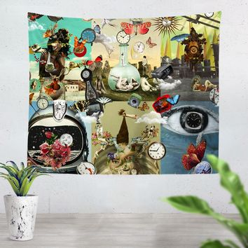 Time Flies Tapestry