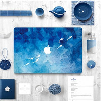 Sea Painting Macbook 13 15 Pro Retina Sticker