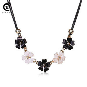 Party Accessory Flower Fashion Necklace For Women