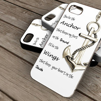 anchor -  iPhone 4 Case,iPhone 4s Hard Case,cover skin case for iphone 5 case, samsung s2 case,samsung s3 case
