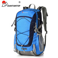 2016 New Arrival High Quality Waterproof Polyester Fabric Professional Climbing Bags 40L Camping Hiking Outdoor Sport Backpack