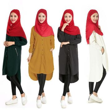 MDIG9GW Fashion Muslim Abaya Dress Islamic Clothing for Women Abayas Indonesia Muslim Dress Long Sleeve Turkish Arab Robes
