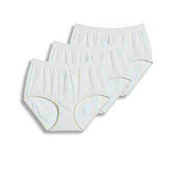 Jockey Women's Underwear Comfies Cotton Brief - 3 Pack