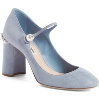 Miu Miu Mary Jane Pump (Women) | Nordstrom