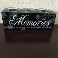 Memories Inspirational Votive Candle Holder