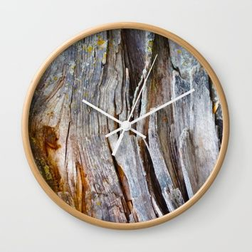 Relic of the Forest Wall Clock by Heidi Haakenson