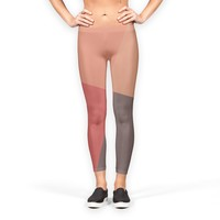 'Color Blocks 2' Leggings by DuckyB on miPic