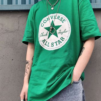 Converse Printed cotton short sleeve Tshirt M--XXL