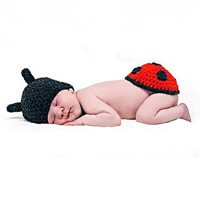 Newborn Baby Girl Boy Knit Crochet Photo Photography Prop Outfit Costume Hot - Default