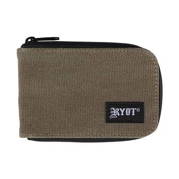 RYOT® SmellSafe® GOO Wallet™ in Olive