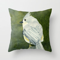 On Top of the World–Song Bird Throw Pillow by Brett Winn