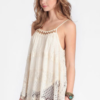 Spanish Shores Lace Blouse - $34.00 : ThreadSence, Women's Indie & Bohemian Clothing, Dresses, & Accessories