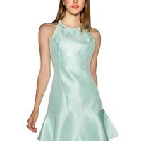 Freedom Mint Flared Hem Dress