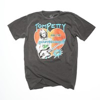 Tom Petty and the Heartbreakers Live Men's Crew - Vintage Black