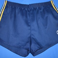 80s Runner Up Striped Running Shorts Size 32-34