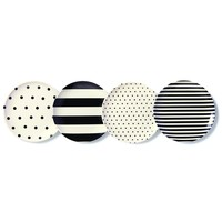 Kate Spade Raise A Glass Melamine Coaster Set - Accessories - Boutique