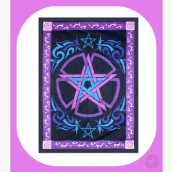 Celtic Pentagram Tapestry