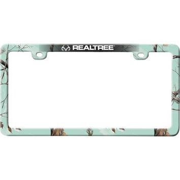 Realtree APC Mint Camouflage License Plate Frame - Walmart.com