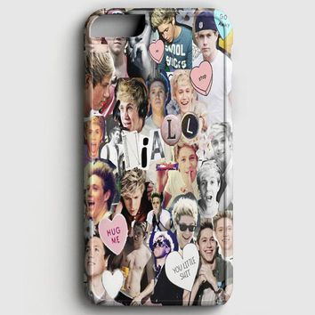 Niall Horan Heart Tshirt White iPhone 8 Case