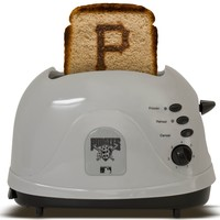 Pangea Brands Pittsburgh Pirates Toaster  Gray