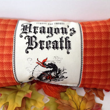 Strong and Smokey Dragon's Breath Decorative Pillow
