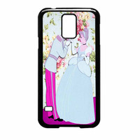 Cinderella Floral Party Samsung Galaxy S5 Case