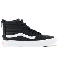 Vans Sk8-Hi Slim Zip Black (Plaid Flannel)