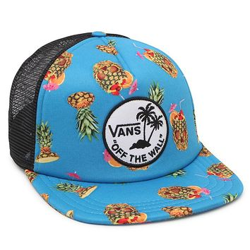 Vans Surf Patch Trucker Hat - Mens Backpack - Blue - One