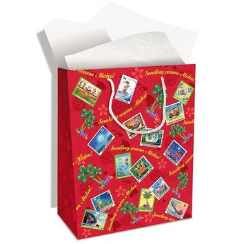 """Gift Bag """"Mele Stamps"""", Small"""