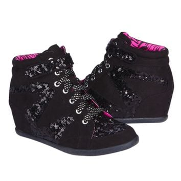Embellished Wedge Sneaker | Girls Sneakers Shoes | Shop Justice