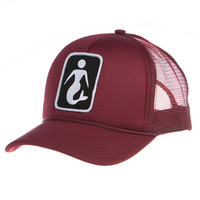 FIN Made - Mermaid Snapback | Black Cherry