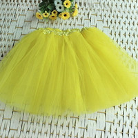 Hot 12 Colors Fashion Women Princess Fairy Style 3 layers Voile Tulle Ballet Skirt Bouffant Puffy Fashion Lolita Short Skirts