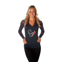 "Houston Texans Women's Official NFL ""Wildkat"" Top"