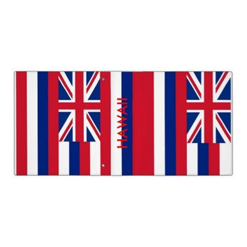Binder with Flag of Hawaii, USA
