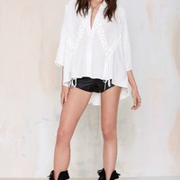 Miriam Button-Down Blouse