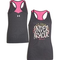 Under Armour Girls' Graphic Victory Tank Top