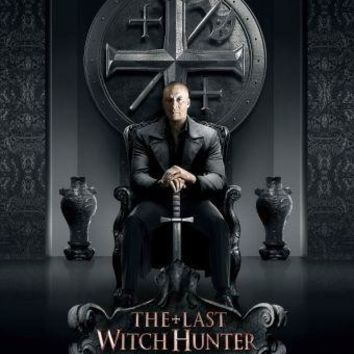 Last Witch Hunter Movie poster Metal Sign Wall Art 8in x 12in
