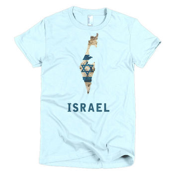 The Israeli Flag T-Shirt