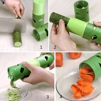 EXCITED PROMOTION Multifunction Vegetable Fruit Cucumber Turning Cutter Slicer