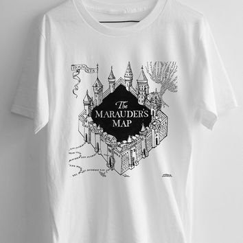 The Marauder's Map harry potter T-shirt men, women and youth